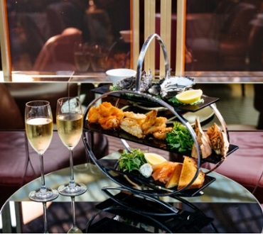 La Vie Champagne & Seafood for two