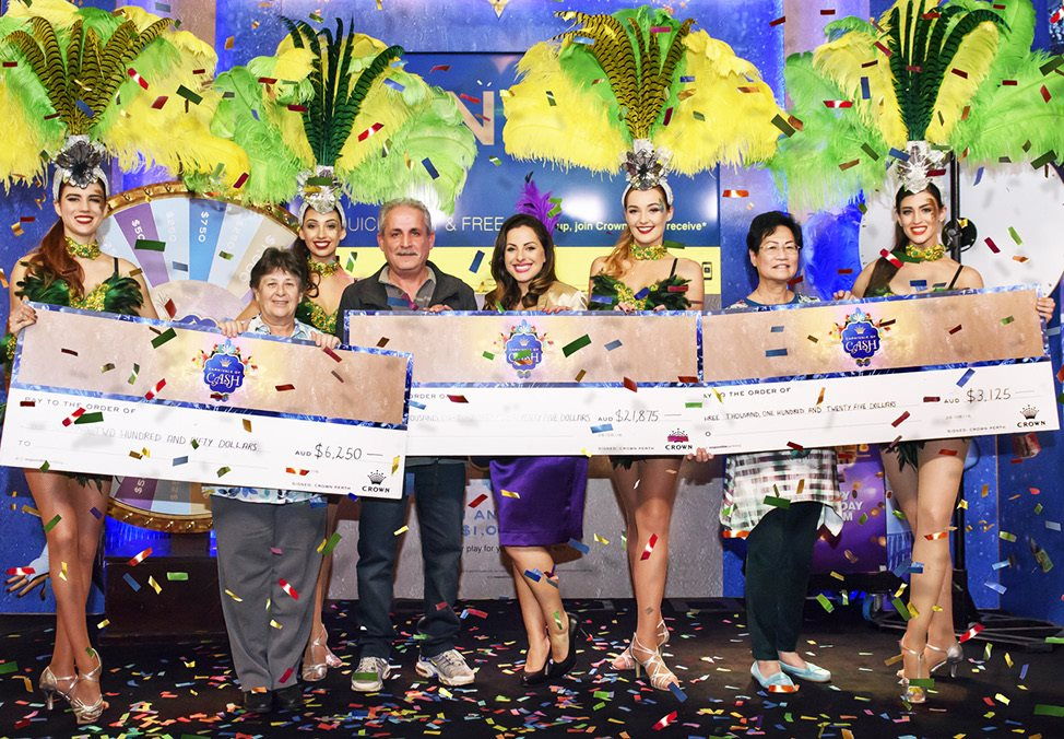 Carnivale Of Cash Winners - Crown Perth Casino Promotion Winners