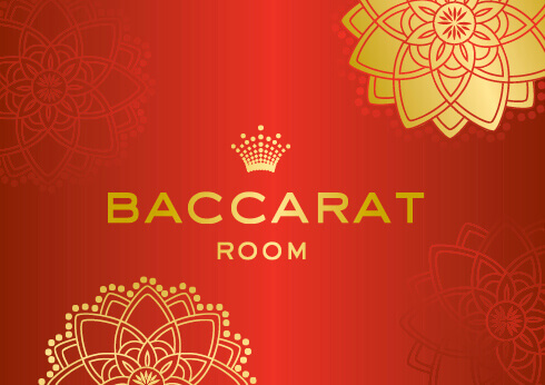 baccarat room logo at crown perth