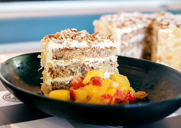 The Merrywell Hummingbird Cake