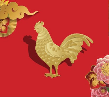 Lunar New Year Zodiacs year of the rooster
