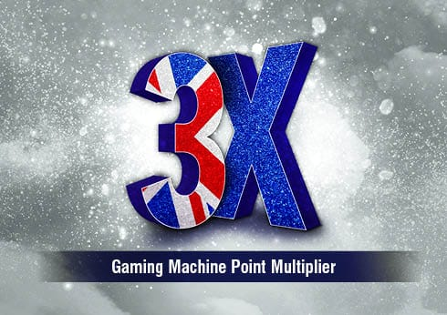 Crown Perth Gaming 3X Multiplier