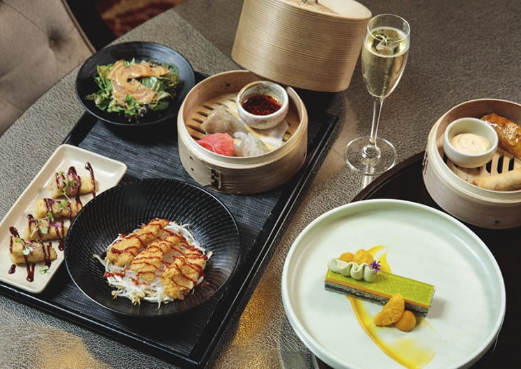 Silks $55 Two-Course Lunch