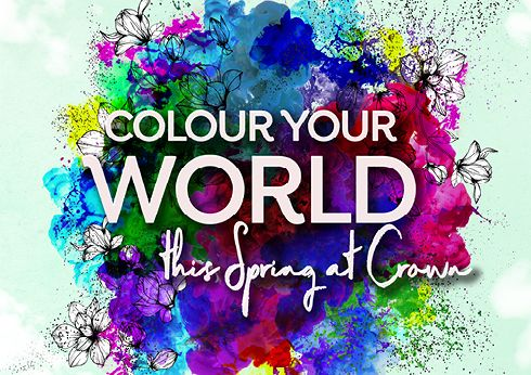 Colour Your World this Spring at Crown Perth
