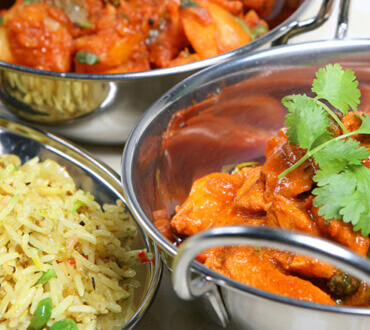 Crown Perth Weddings Indian Buffet Menu