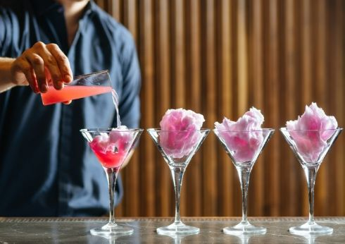 Crown Perth Merrywell Fairy Floss Cocktail Offer