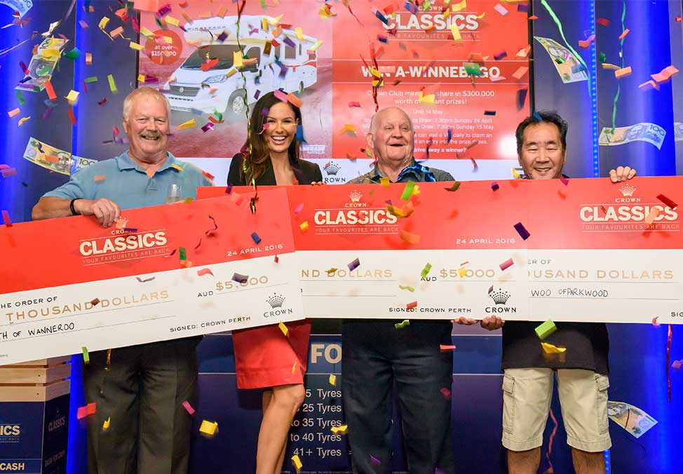 Crown Perth Gaming Crown Classics Winners