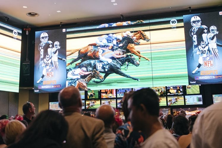 Melbourne Cup 2019 Crown Sports Bar horseracing