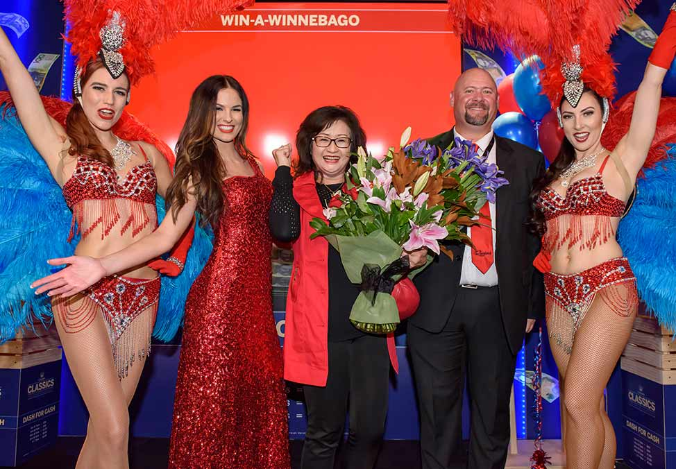 Crown Perth Win Big at Crown Win-A-Winnebago Winner