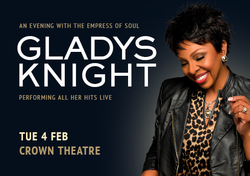 gladys knight at crown perth theatre live entertainment