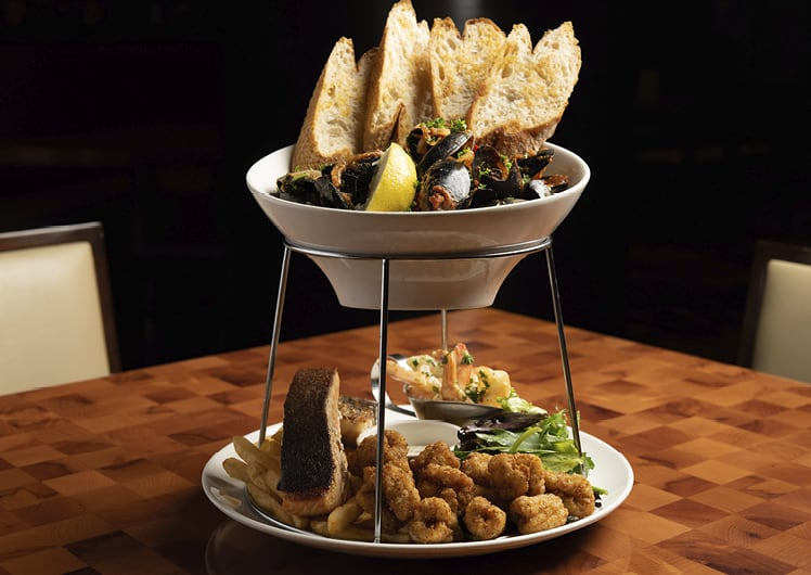 Seafood Platter at Junction Grill