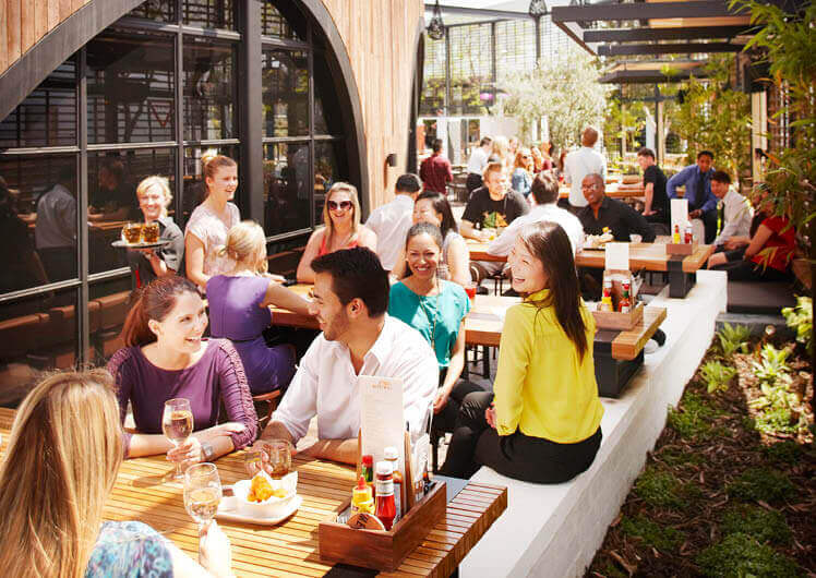 Crown Perth The Merrywell Beer Garden