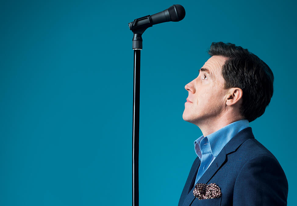 Rob Brydon – I Am Standing Up showing at Crown Theatre in Crown Perth