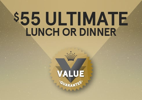 Ultimate Lunch and Dinner Crown perth