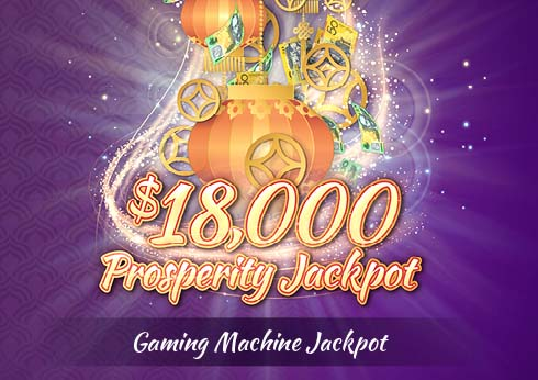 Crown Perth $18,000 Prosperity Jackpot Main Gaming Floor