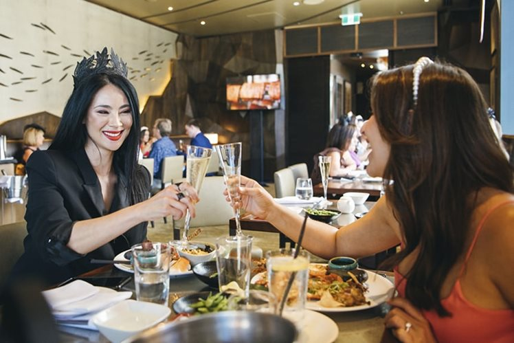Melbourne Cup 2019 Nobu guests cheers with champagne