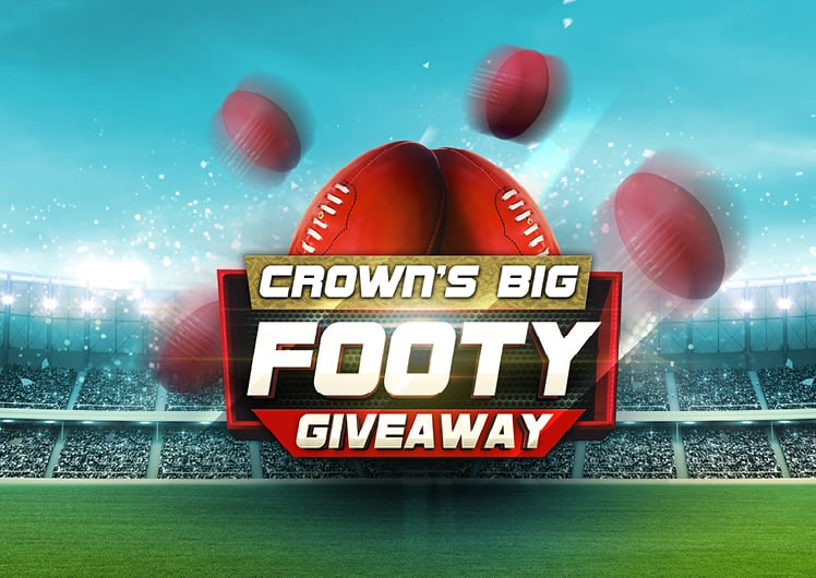 Crown Perth Big Footy Giveaway Lockup