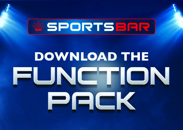Crown Sports Bar VIP Box Function Pack