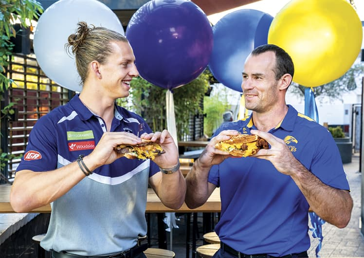 Nat Fyfe & Shannon Hurn - Battle of the Sangas | The Merrywell