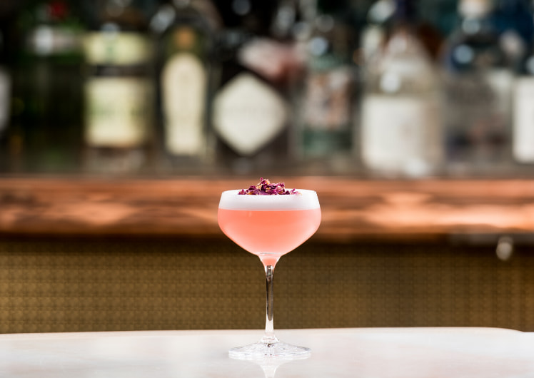 NYE Cocktails - Cosmo at TWR