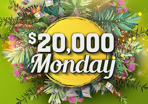 $20,000 Monday gaming promotion