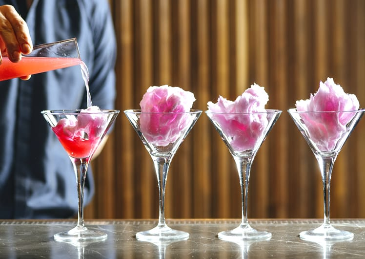 Crown Perth Merrywell Fairy Floss Cocktail Special Offer Restaurants