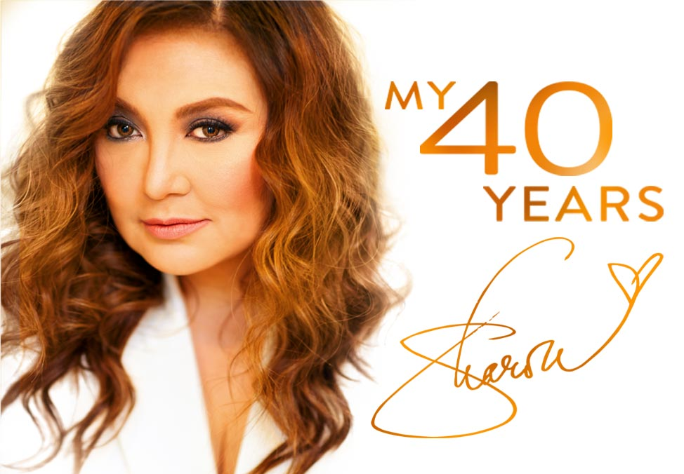 Sharon Cuneta - My Forty Years at Crown Theatre