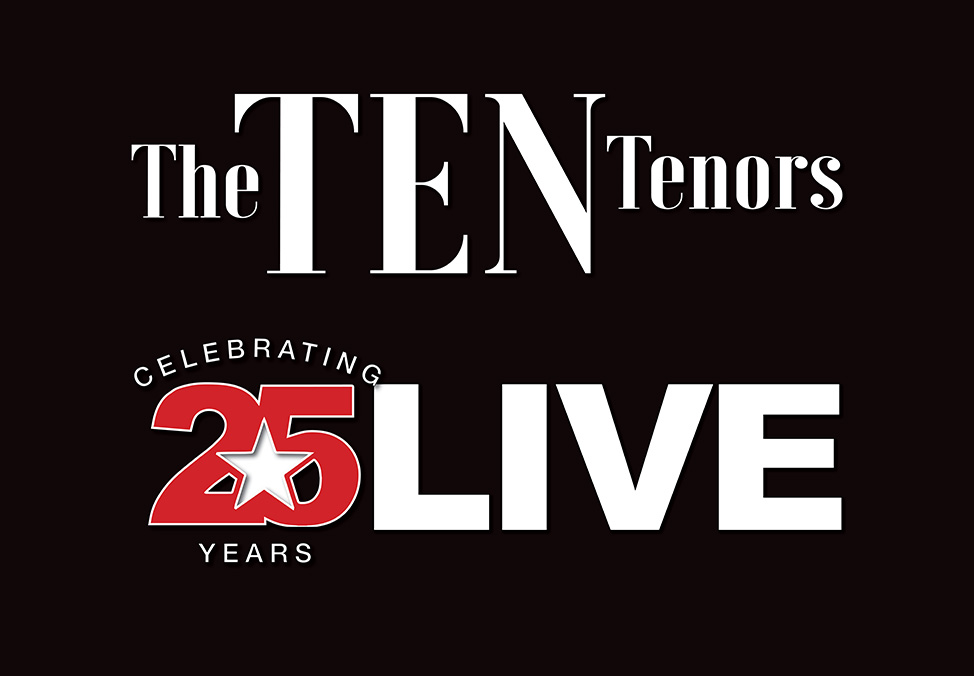 The Ten Tenors 25th Anniversary at Crown Theatre Perth