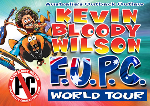Kevin Bloody Wilson at crown theatre perth