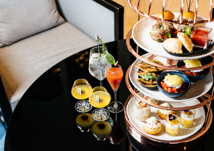 birdcage brunch at the waiting room twr crown perth high tea