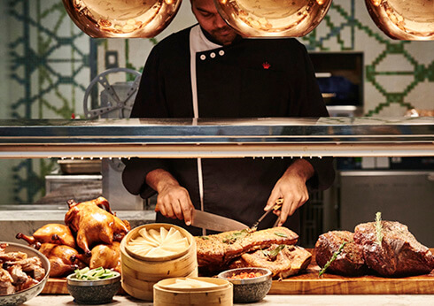 Epicurean Lunar New Year Lunch Dinner Crown Perth