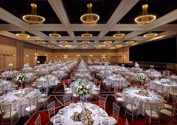 Crown Perth Weddings Venues Grand Ballrooms