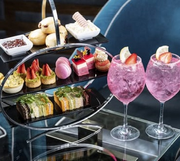 Pink Gin High Tea