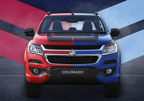 Chance to win a Holden Colorado promotion at Crown Perth