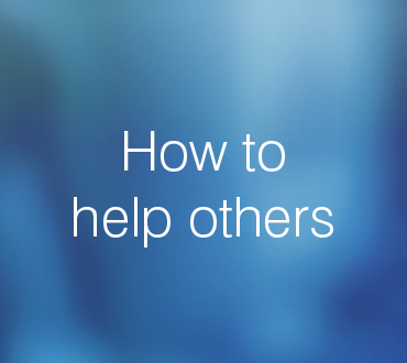 How to help others - Responsible Gambling Crown Perth