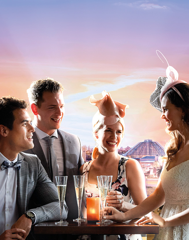 Crown Perth Melbourne Cup Overarching 3 Panel