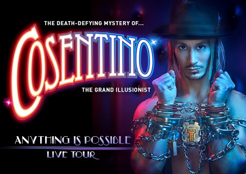 Crown Perth Theatre Cosentino Magician Show