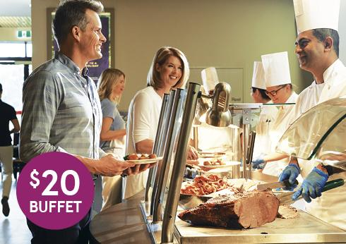 $20 All You Can Eat At Carvers - Crown Perth's Value Guarantee
