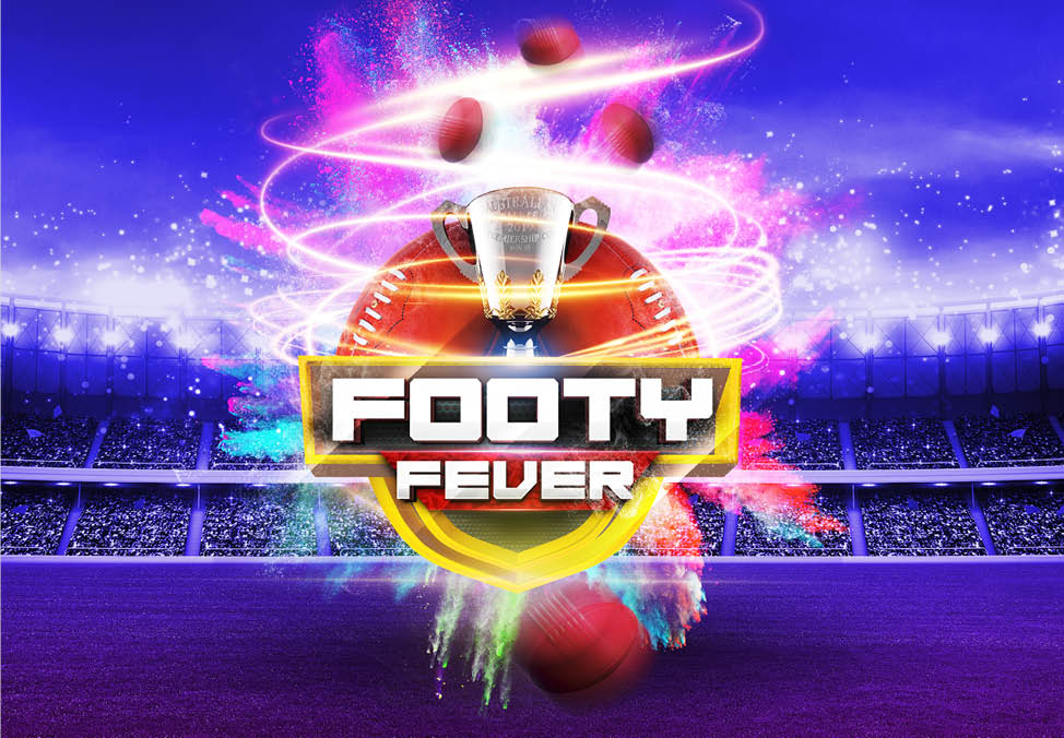 Footy Fever at Crown Perth in Casino Main Gaming Floor