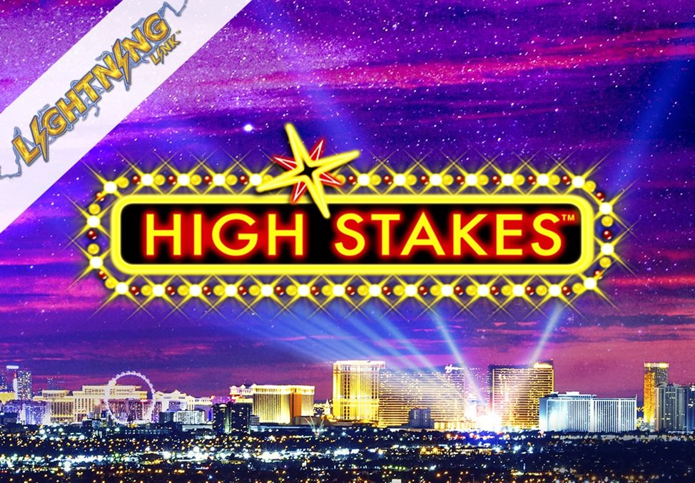 Lightning Link High Stakes Casino Gaming Machine