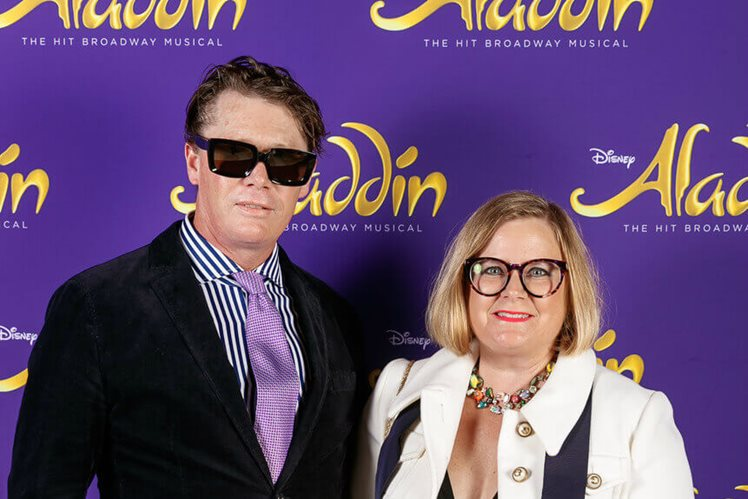 Aladdin Opening Night at Crown Perth