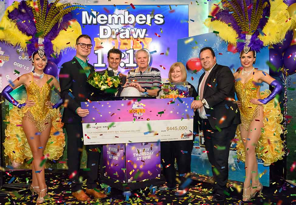 Crown Perth Member Money Night Winner