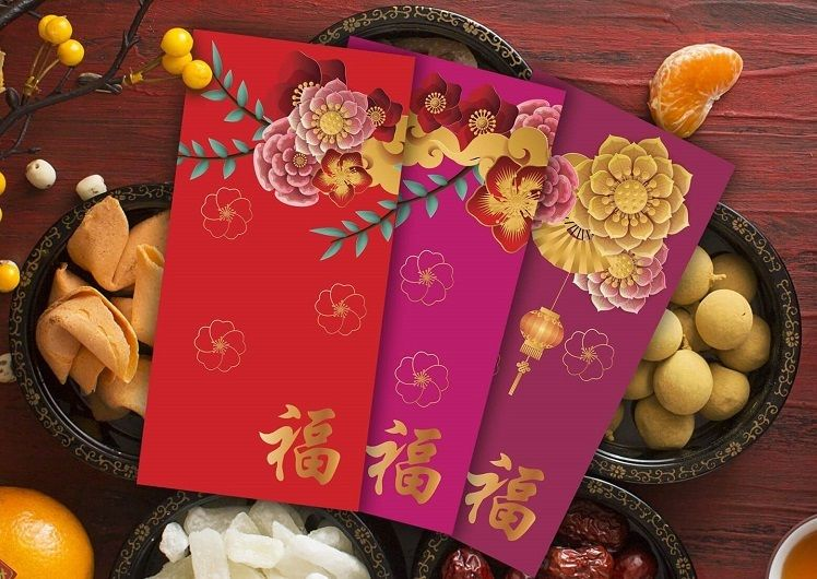 lunar new year red packets
