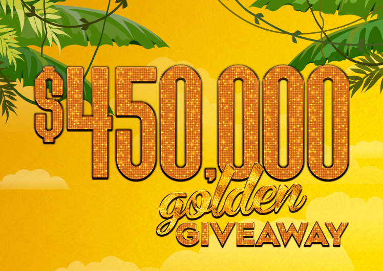 Crown Perth Casino $450,000 Golden Giveaway