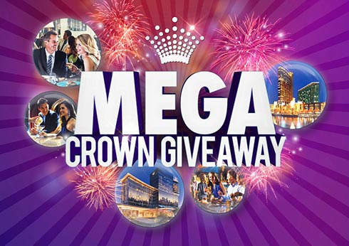 Crown Perth Casino Mega Crown Giveaway