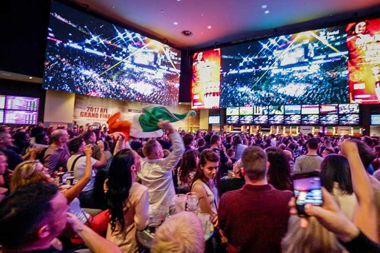 Mayweather vs McGregor Crown Sports Bar Perth