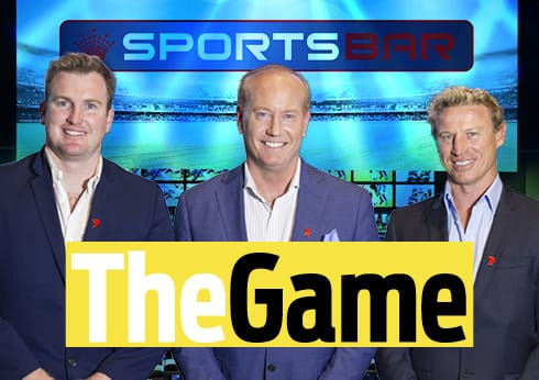 The Game - Channel 7 Live broadcast | Crown Sports Bar