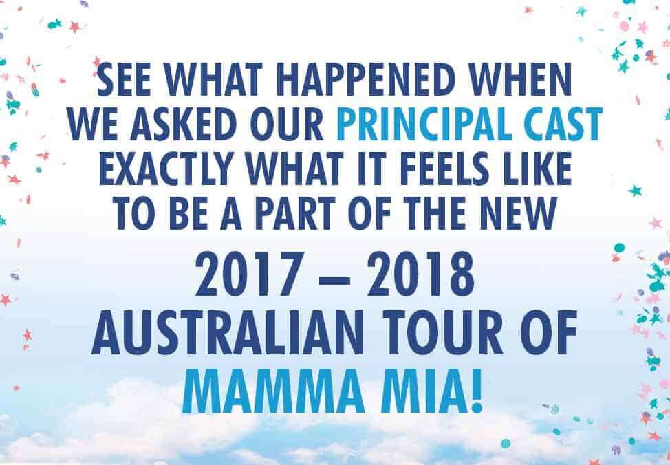 Mamma Mia The Musical Live at Crown Theatre Perth