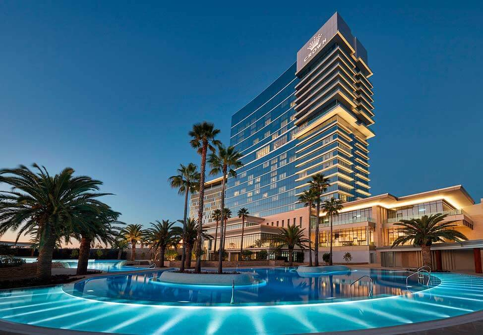 The Pool & The Enclave Crown Towers Perth