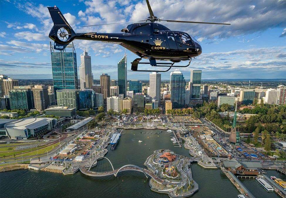 Crown Perth Helicopter Corsaire Aviation
